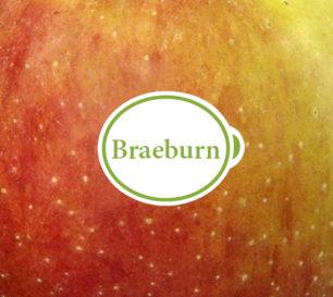 Braeburn packshot closeup