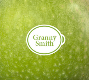 Granny Smith packshot closeup