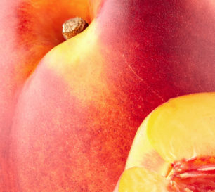 Nectarine closeup