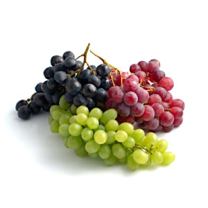 Grapes packshot